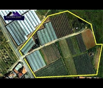 Terreno misto com uma área de construção de 250m2 e 23.360m2 de área total